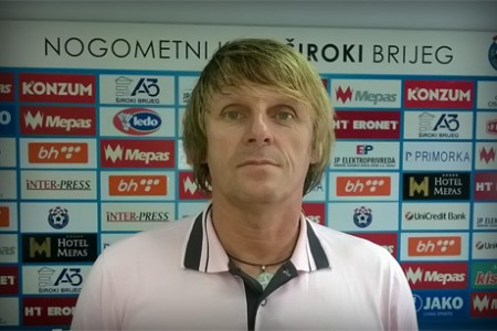 Davor Mladina trener NK Široki Brijeg