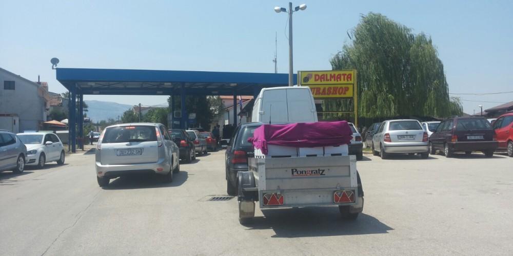 Otvoren granični prijelaz Gabela (Jura shop)