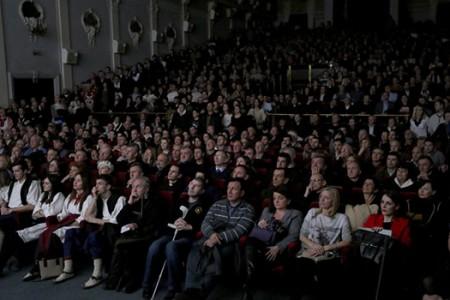 """Film """"In odium fidei"""" prikazan..."""
