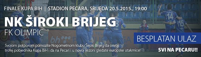 Finale Kupa 2015: Široki Brijeg – Olimpic