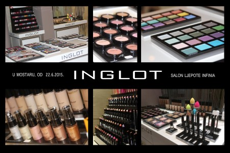 Infinia Mostar: INGLOT profesionalni make-up