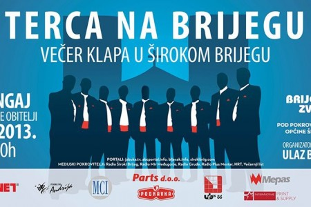 Terca: Susret klapa na irokom