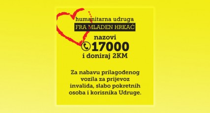 Nazovi - pomozi - doniraj  2 KM